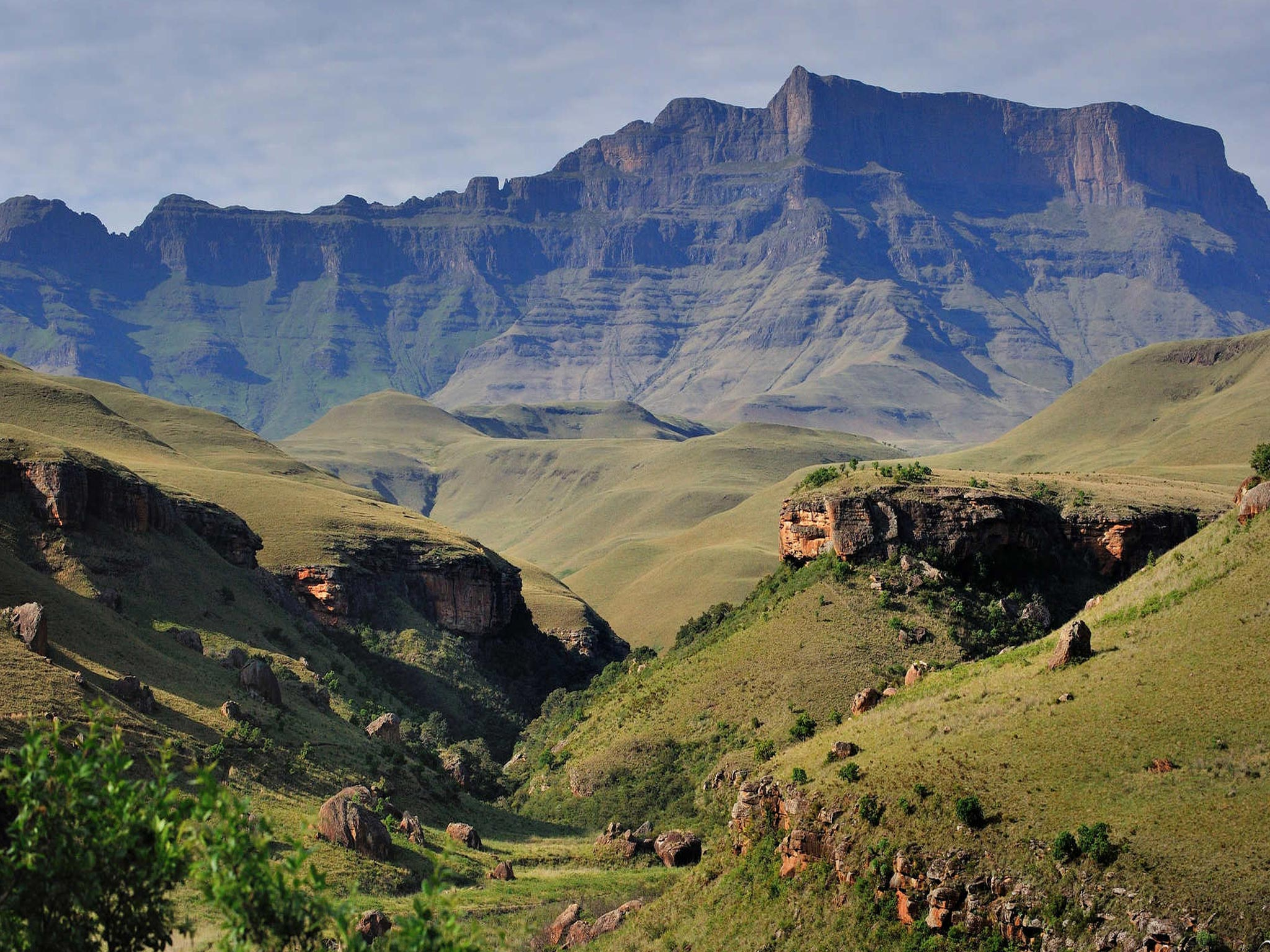 Giants Castle - Drakensberg Mountains