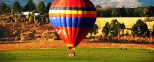 drakensberg activities - hot air ballooning at Antbear Lodge