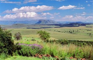 The view from Antbear Lodge - Drakensberg accommodation