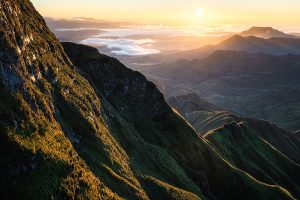 Drakensberg Mountains sunrise