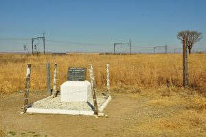 Monument to the armourd train ambush - Estcourt