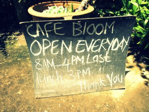 Cafe Bloom - Midlands Meander