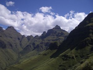 Cathedral Peak Central Drakensberg