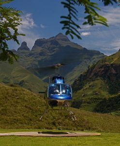 Drakensberg helicopter flips