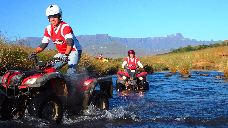 Drakensberg quad bike trails - All out adventures