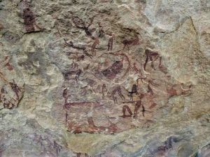 Highmoor - Spectacular rock art at Fultons Rock