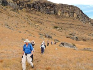 Drakensberg Mountains - Hiking at Kamberg