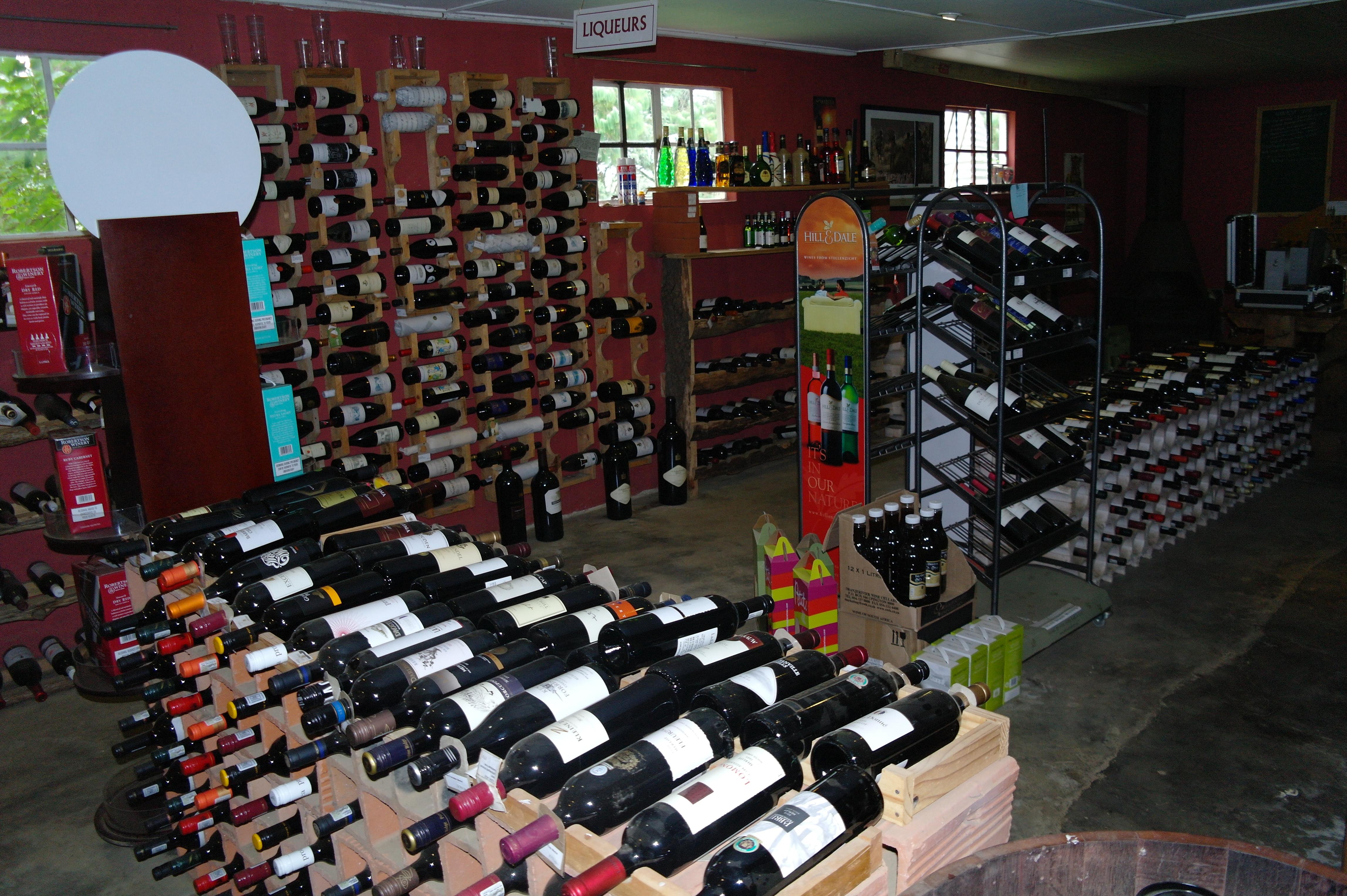Rosetta - Wine cellar wine tasting