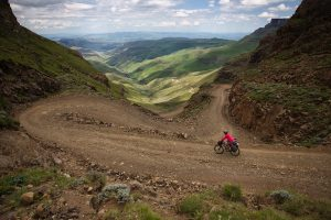 Sani Pass mountain biking